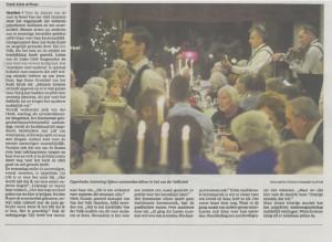 Artikel  Batuta voor Rode kruis Haarlems Dagblad 17 december 2014